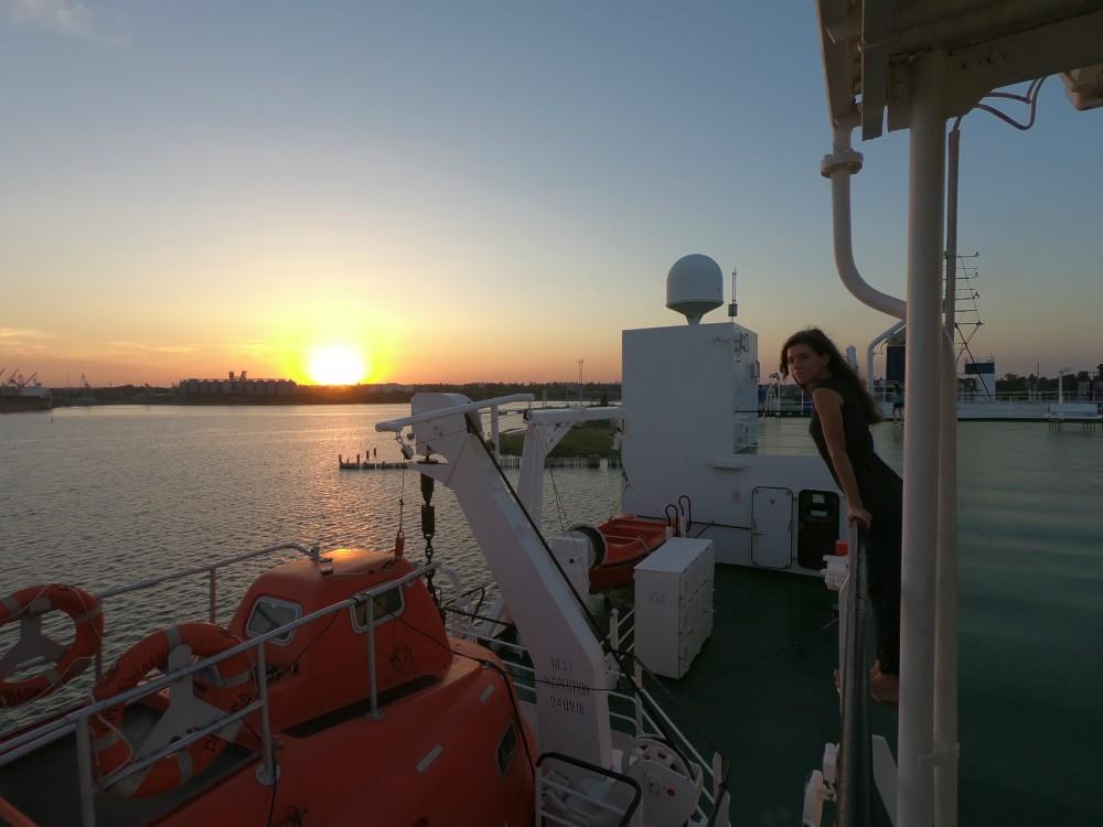 Czarnomorsk UKR Ferry Prom Greifswald