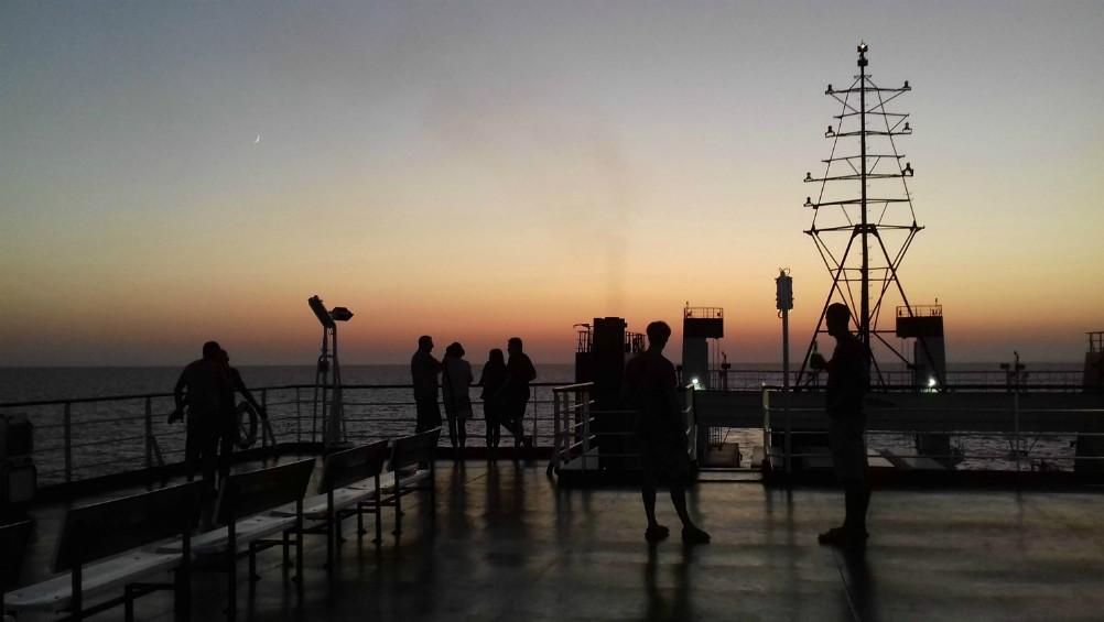 Morze Czarne UKR Ferry prom Greifswald rejs z Czarnomorska do Batumi