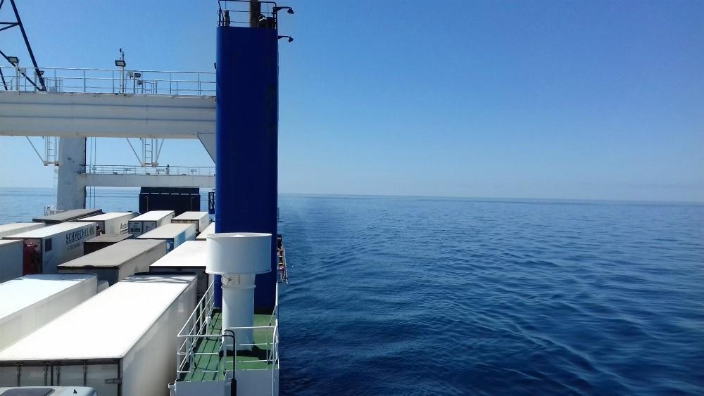 Morze Czarne UKR Ferry prom Greifswald poklad górny