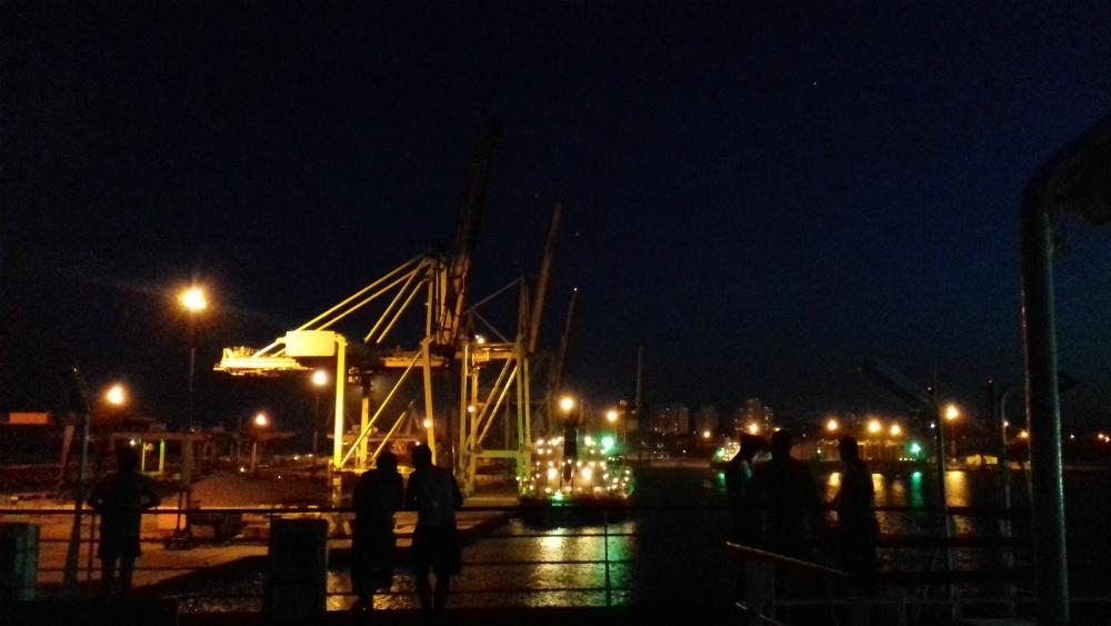 Morze Czarne UKR Ferry prom cargo Greifswald port w Czarnomorsku