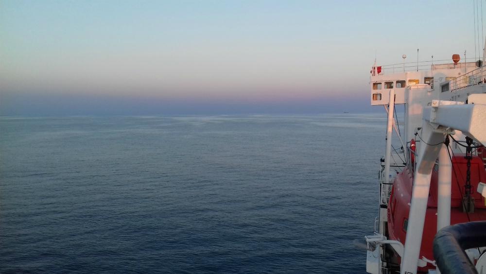 Morze Czarne UKR Ferry prom cargo Greifswald rejs z Czarnomorska do Batumi w Gruzji