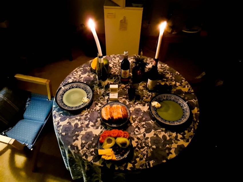 RPA Cape Town Simonstad zaręczyny kolacja enagagement