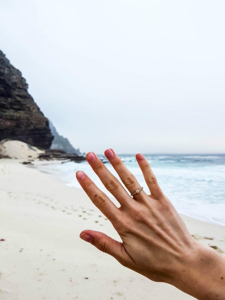 Zaręczyny w RPA Przylądek Dobrej Nadziei South Africa Cape of Good Hope Engagement Dias Beach