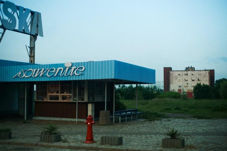 Gdańsk Stocznia Gdańska kiosk Souvenire